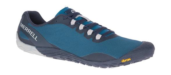 Herren Laufschuhe Merrell Vapor Glove 4 blau