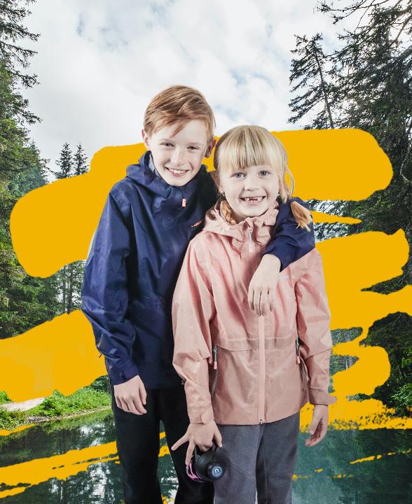 Detské outdoorové oblečenie